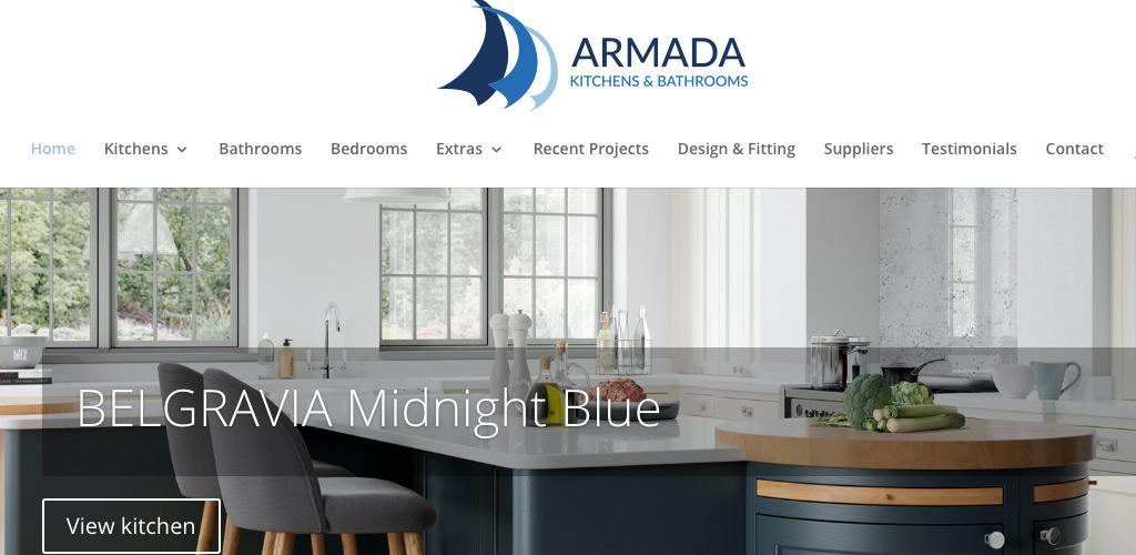 Armada Kitchens website image