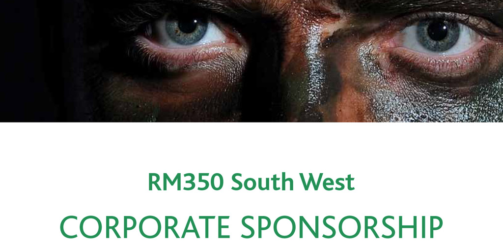 RM350 sponsorship brochure cover