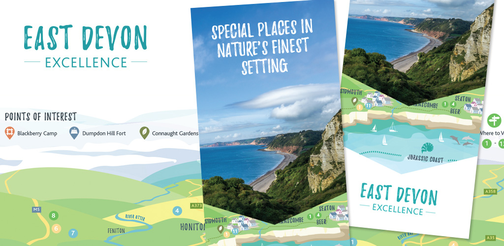Illustrative brochure design