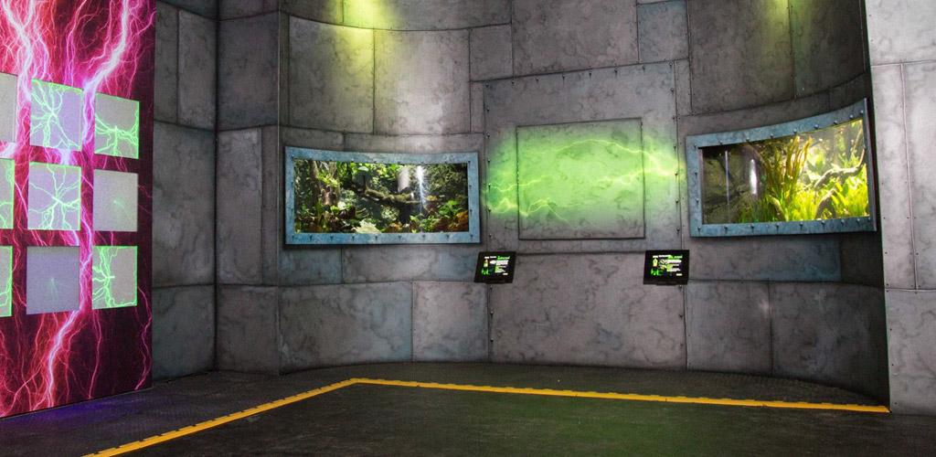 Touch screen design for SEA LIFE Aquariums