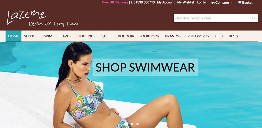 Image of Lazeme website