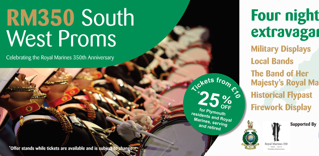 Design and advertising for RM350 South West Proms