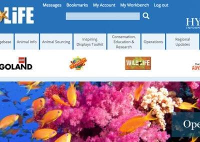 Collaboration system for SEA LIFE Aquariums