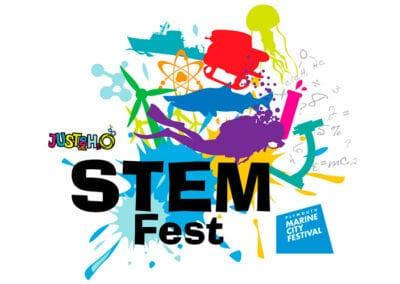Logo design for StemFest festival