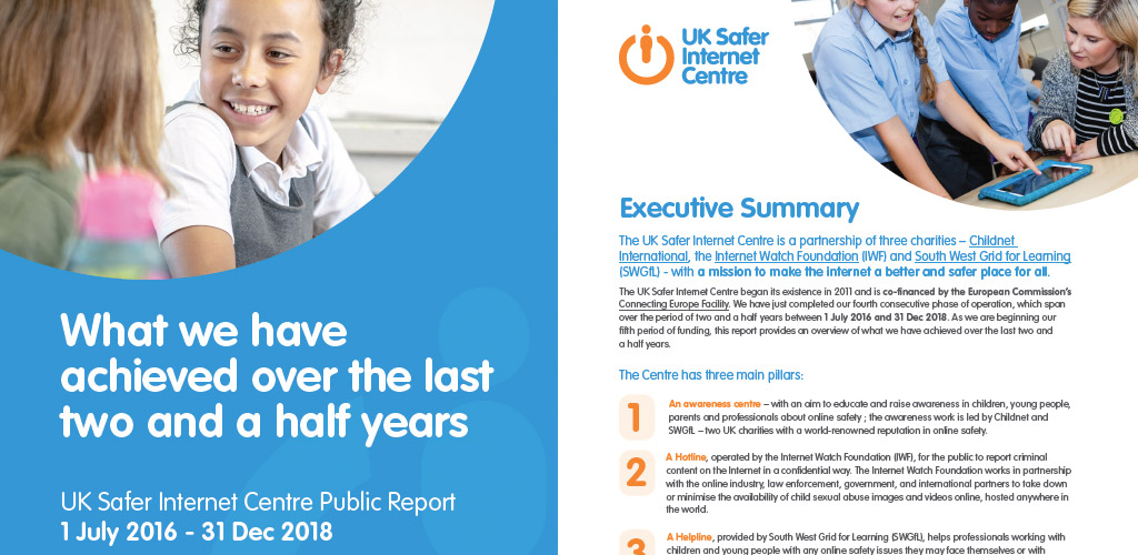 Uk Safety Internet Centre public report